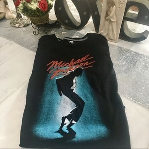 Michael Jackson Tshirt (I know) (XL)